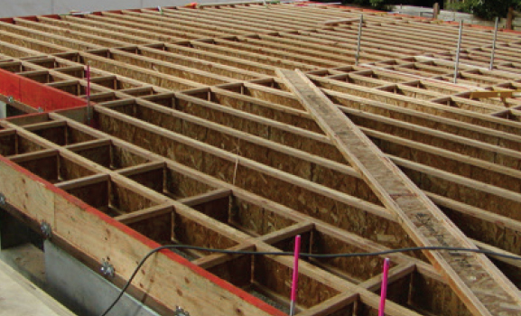 Open web joist roof trusses inviting project on for Open web floor joists