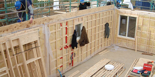 Timber panel construction